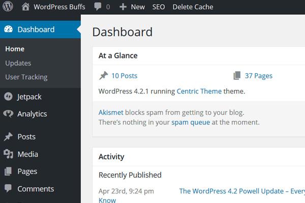 Creare sito WordPress